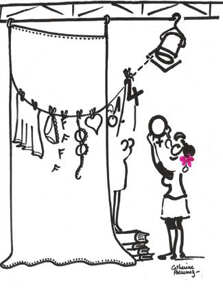 illustration du parcours filles femmes